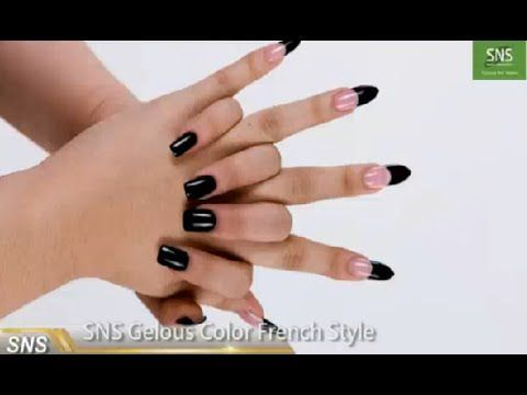 SNS Nails - Signature Nail Systems: How to do SNS Gelous Color French Style?